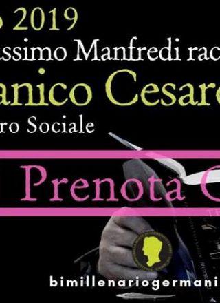 Valerio Massimo Manfredi racconta Germanico Cesare…